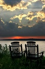 two chairs -- seeing the sunrise